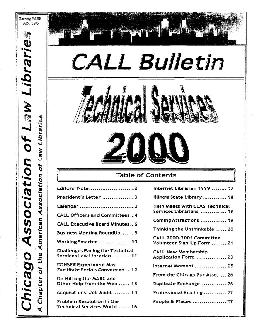 CALL Bulletin V  176