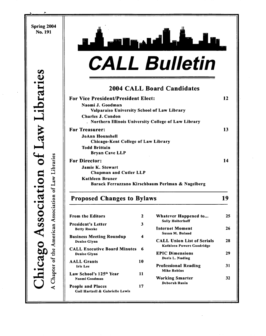 handle is hein.journals/callbu191 and id is 1 raw text is: 