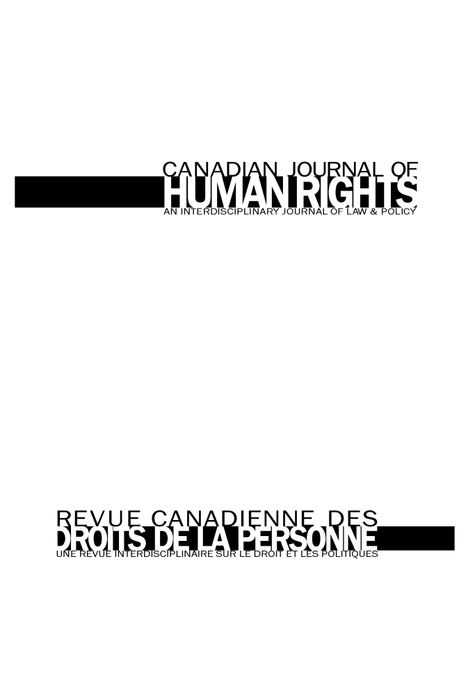 handle is hein.journals/canajo4 and id is 1 raw text is: AN INTERDISCIPLINARY JOURNAL OF LAW& POLICY