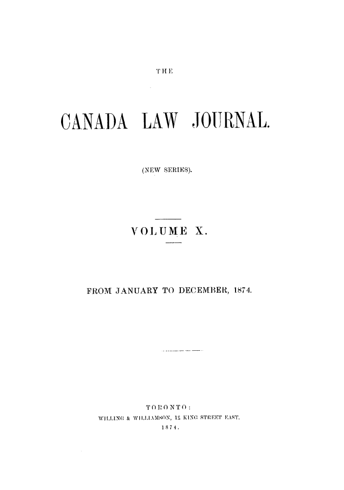 handle is hein.journals/canljtns10 and id is 1 raw text is: T H E