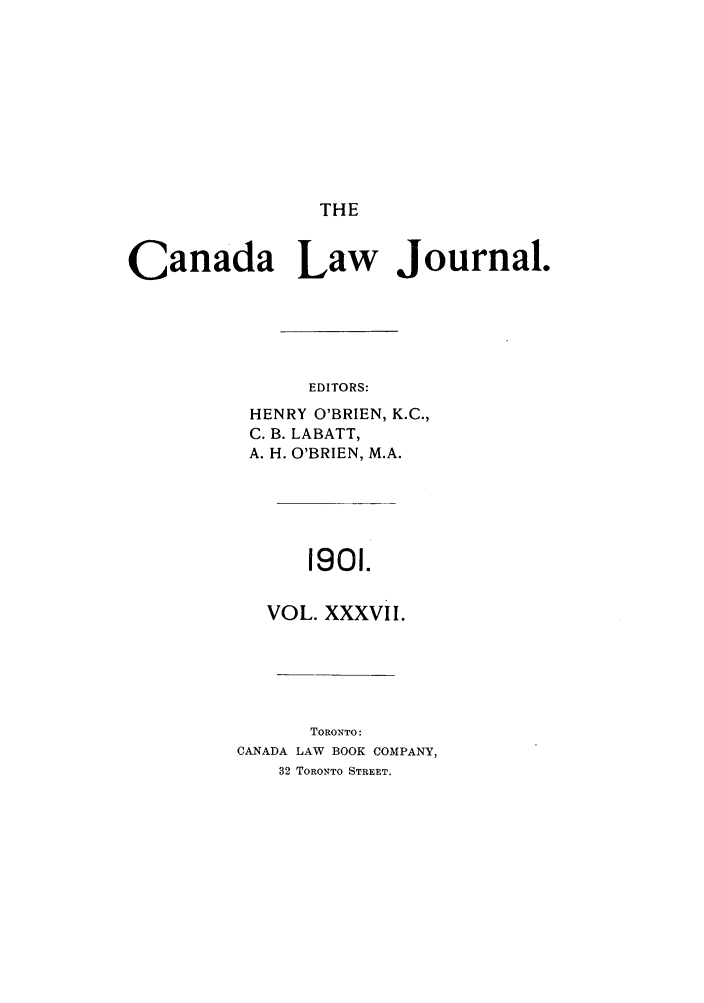 handle is hein.journals/canljtns37 and id is 1 raw text is: THE