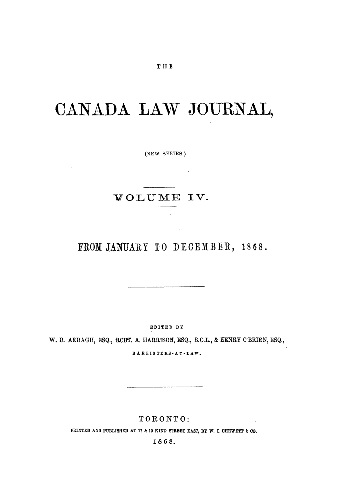 handle is hein.journals/canljtns4 and id is 1 raw text is: THE