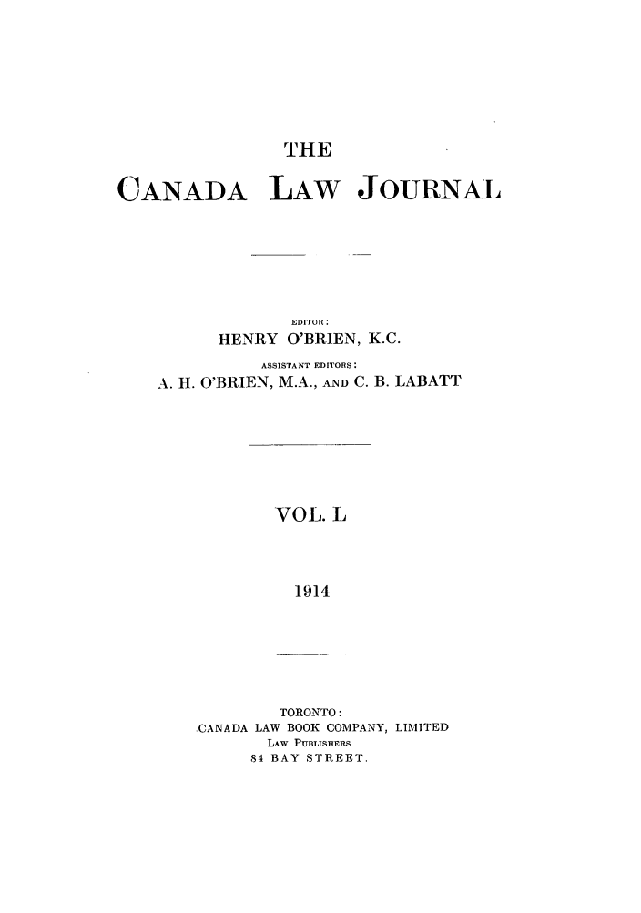 handle is hein.journals/canljtns50 and id is 1 raw text is: THE