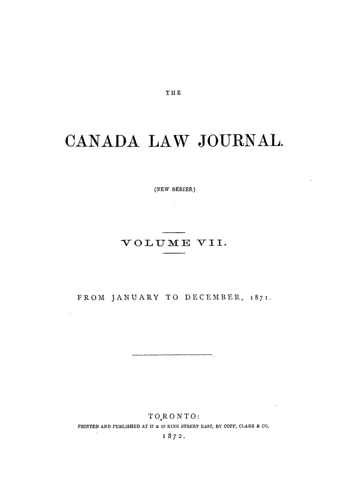 handle is hein.journals/canljtns7 and id is 1 raw text is: THE
