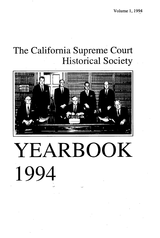 handle is hein.journals/cashsy1 and id is 1 raw text is: Volume 1, 1994