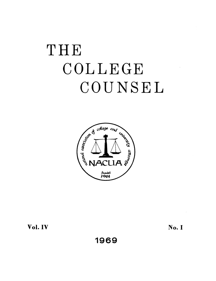 handle is hein.journals/cegesel4 and id is 1 raw text is: THE