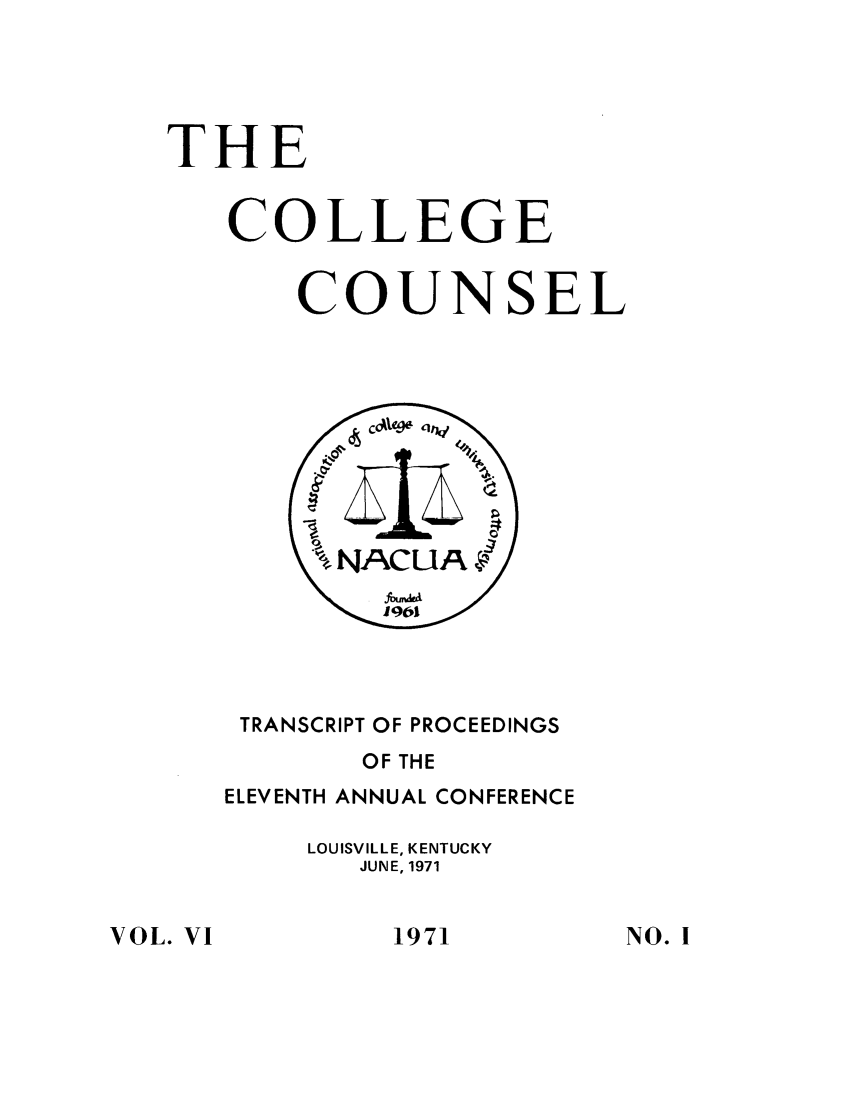 handle is hein.journals/cegesel6 and id is 1 raw text is: THE