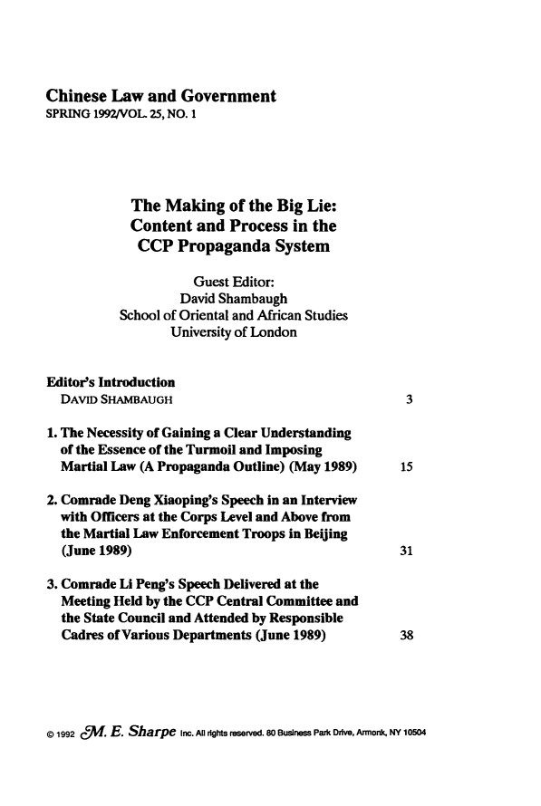 handle is hein.journals/chinelgo25 and id is 1 raw text is: 