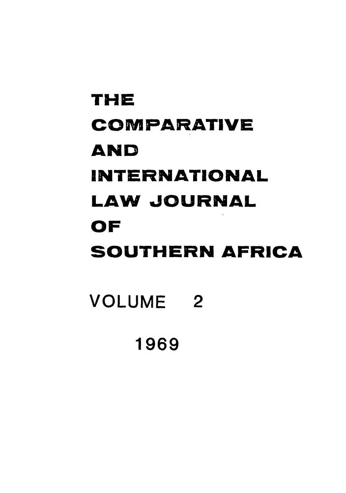 handle is hein.journals/ciminsfri2 and id is 1 raw text is: THE
