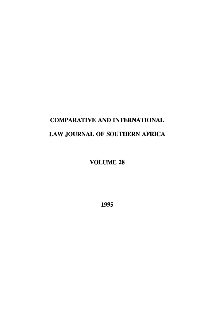 handle is hein.journals/ciminsfri28 and id is 1 raw text is: COMPARATIVE AND INTERNATIONAL
