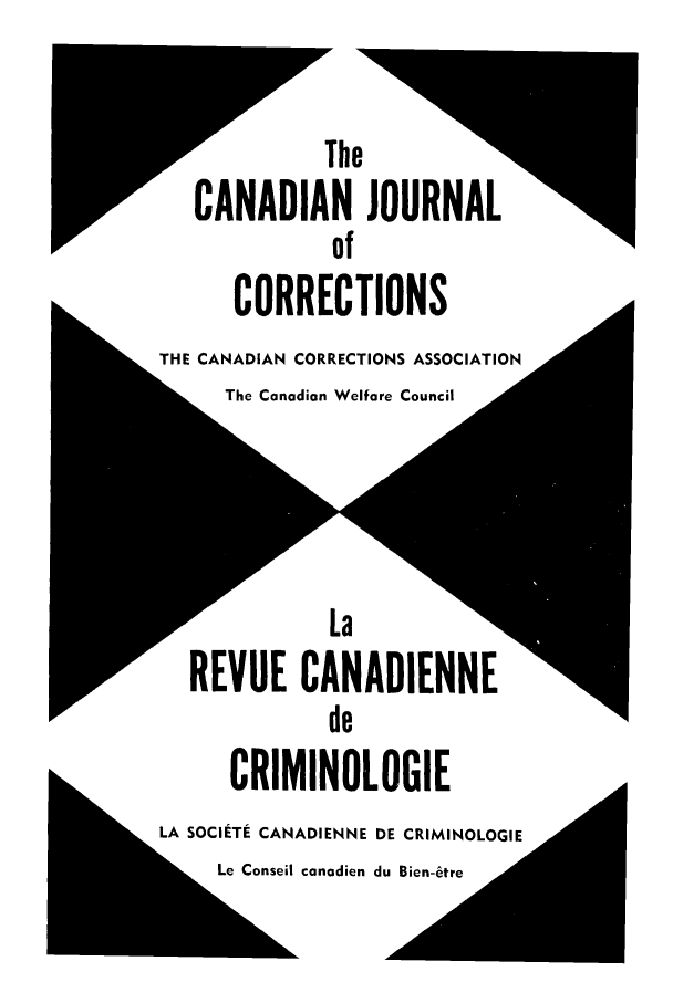 handle is hein.journals/cjccj11 and id is 1 raw text is: vThe