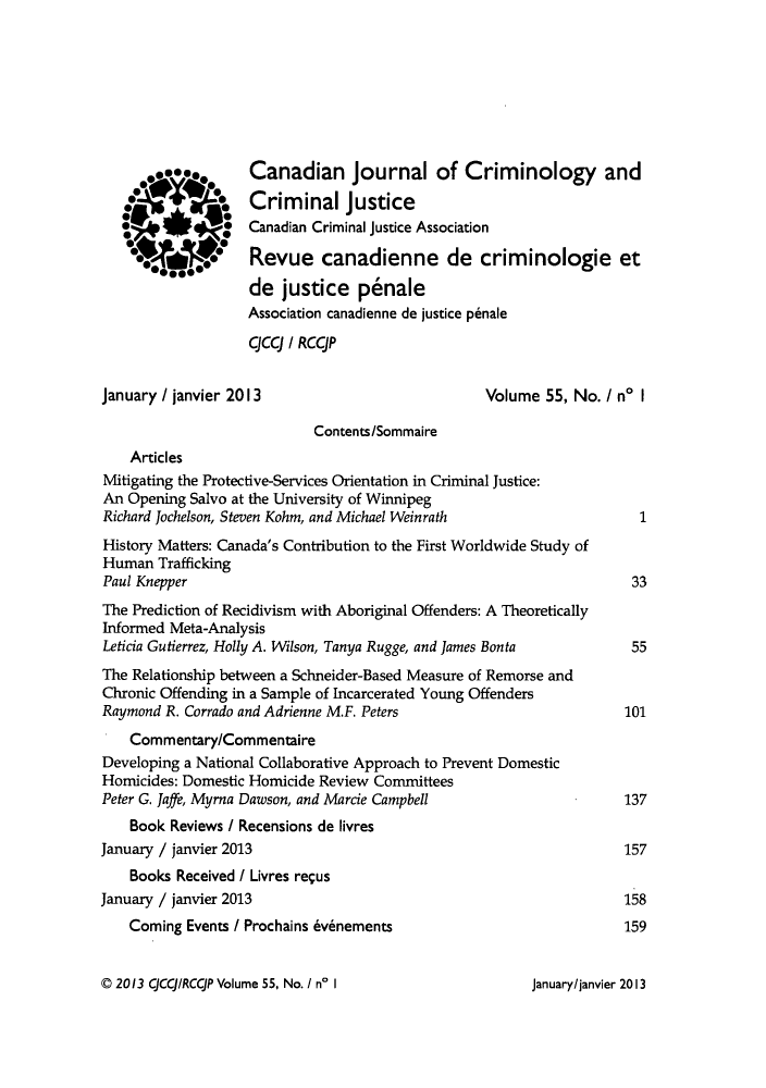 handle is hein.journals/cjccj55 and id is 1 raw text is: Canadian Journal of Criminology and