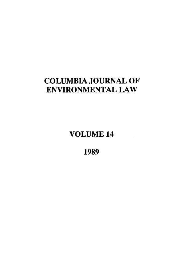 handle is hein.journals/cjel14 and id is 1 raw text is: 
