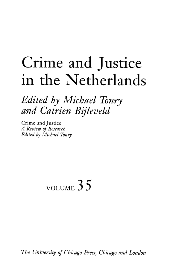handle is hein.journals/cjrr35 and id is 1 raw text is: Crime and Justice