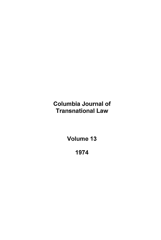 handle is hein.journals/cjtl13 and id is 1 raw text is: Columbia Journal of