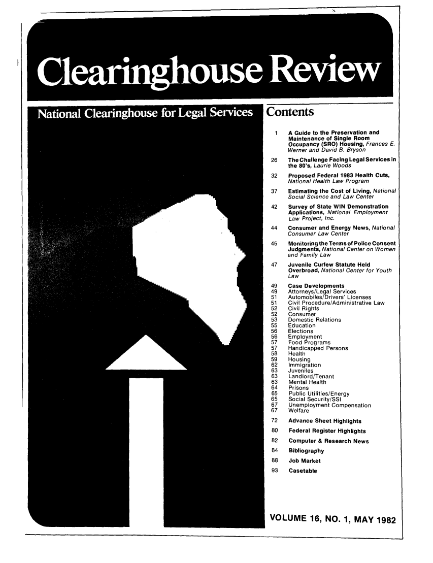 handle is hein.journals/clear16 and id is 1 raw text is: Contents