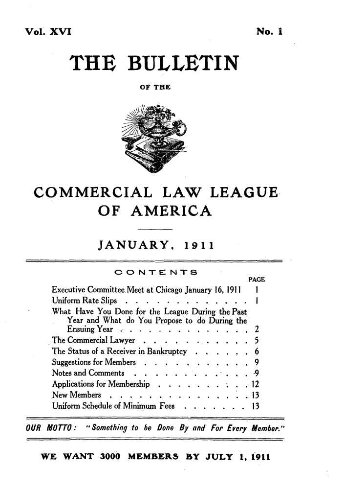 handle is hein.journals/clla16 and id is 1 raw text is: Vol. XVI