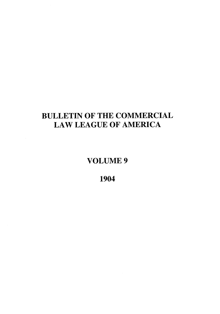 handle is hein.journals/clla9 and id is 1 raw text is: BULLETIN OF THE COMMERCIAL