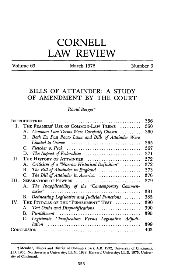 handle is hein.journals/clqv63 and id is 363 raw text is: CORNELL
