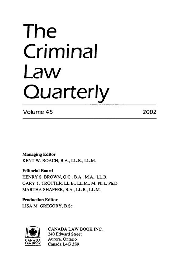 handle is hein.journals/clwqrty45 and id is 1 raw text is: The