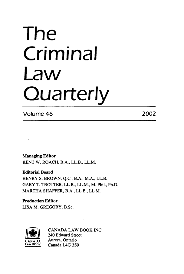 handle is hein.journals/clwqrty46 and id is 1 raw text is: The