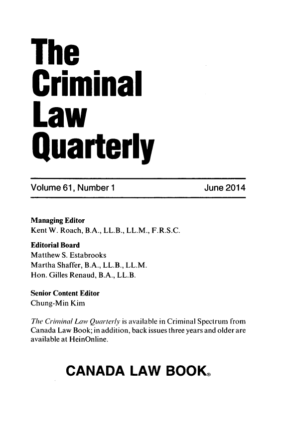 handle is hein.journals/clwqrty61 and id is 1 raw text is: The