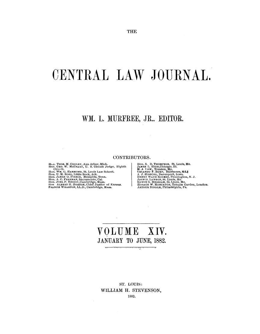 handle is hein.journals/cntrlwj14 and id is 1 raw text is: THE