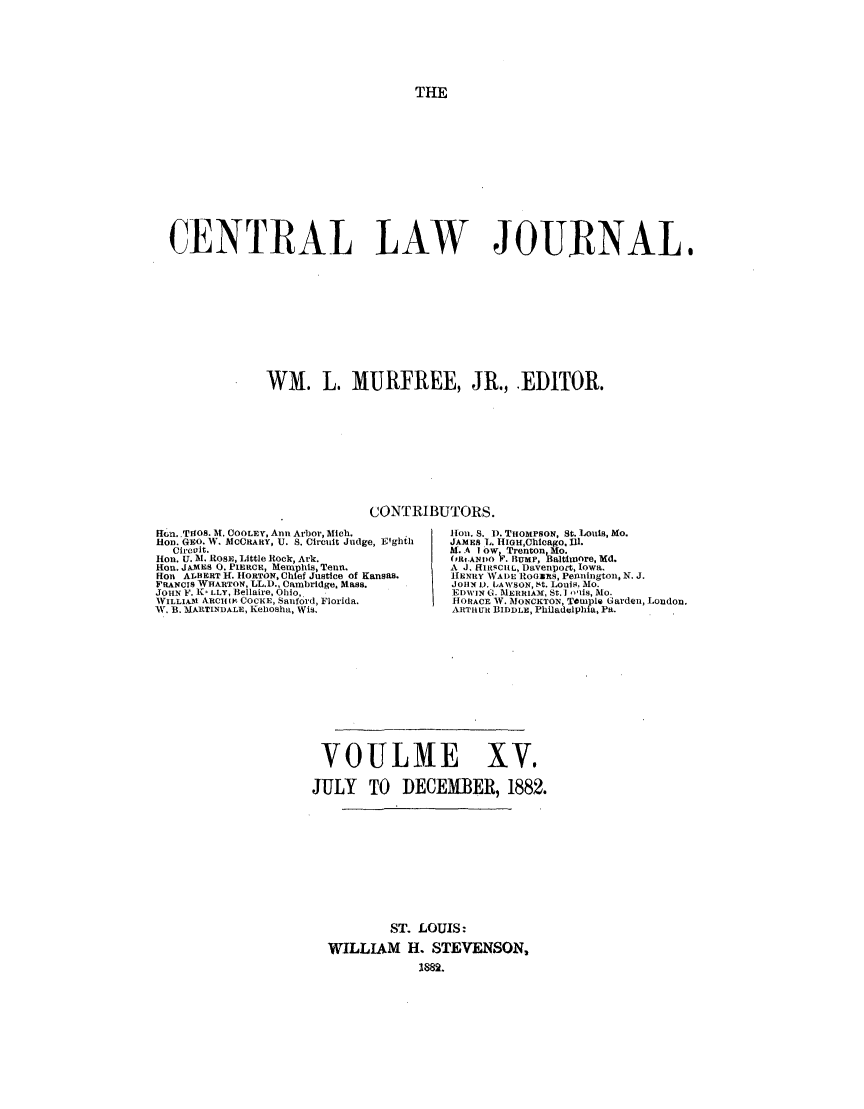 handle is hein.journals/cntrlwj15 and id is 1 raw text is: THE