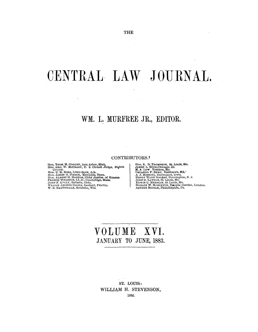 handle is hein.journals/cntrlwj16 and id is 1 raw text is: THE
