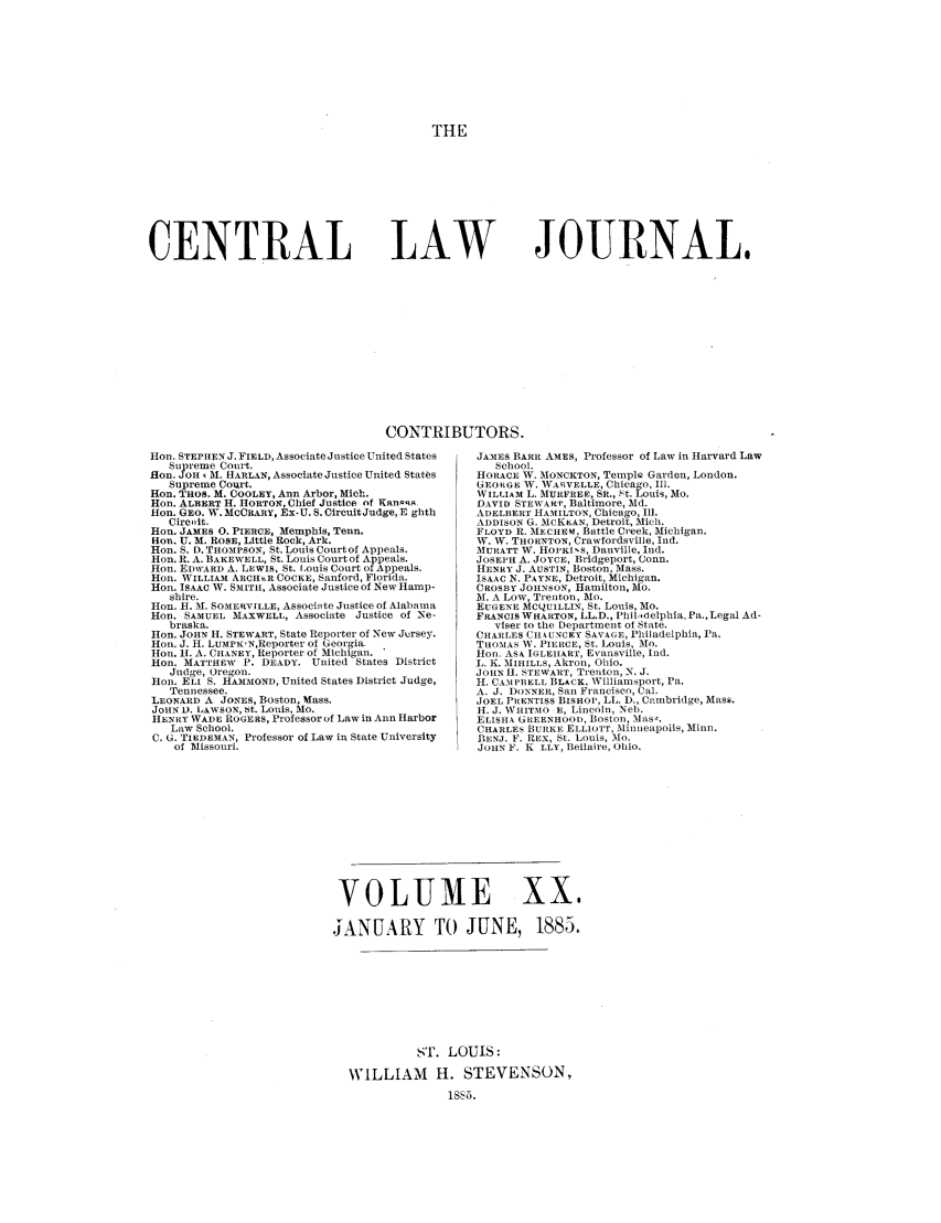 handle is hein.journals/cntrlwj20 and id is 1 raw text is: THE