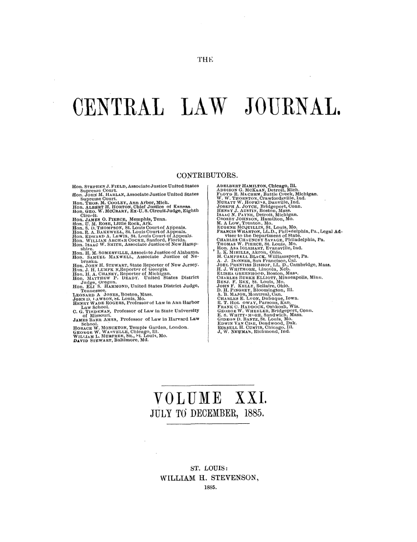 handle is hein.journals/cntrlwj21 and id is 1 raw text is: Til R: