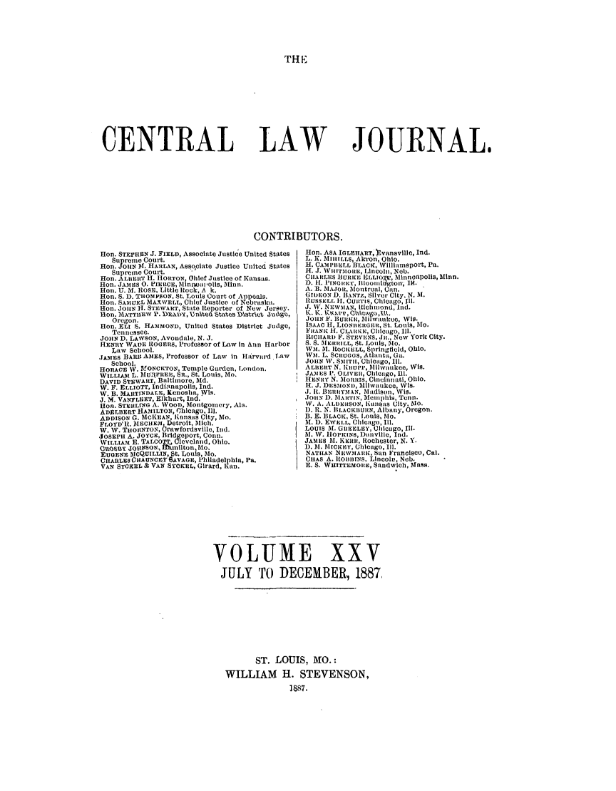 handle is hein.journals/cntrlwj25 and id is 1 raw text is: TH E