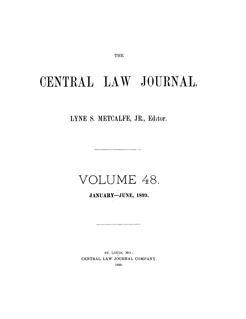 handle is hein.journals/cntrlwj48 and id is 1 raw text is: THE