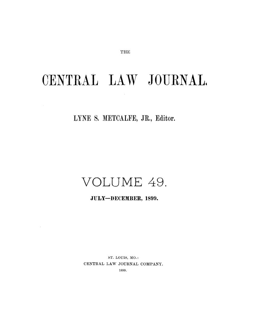 handle is hein.journals/cntrlwj49 and id is 1 raw text is: THE