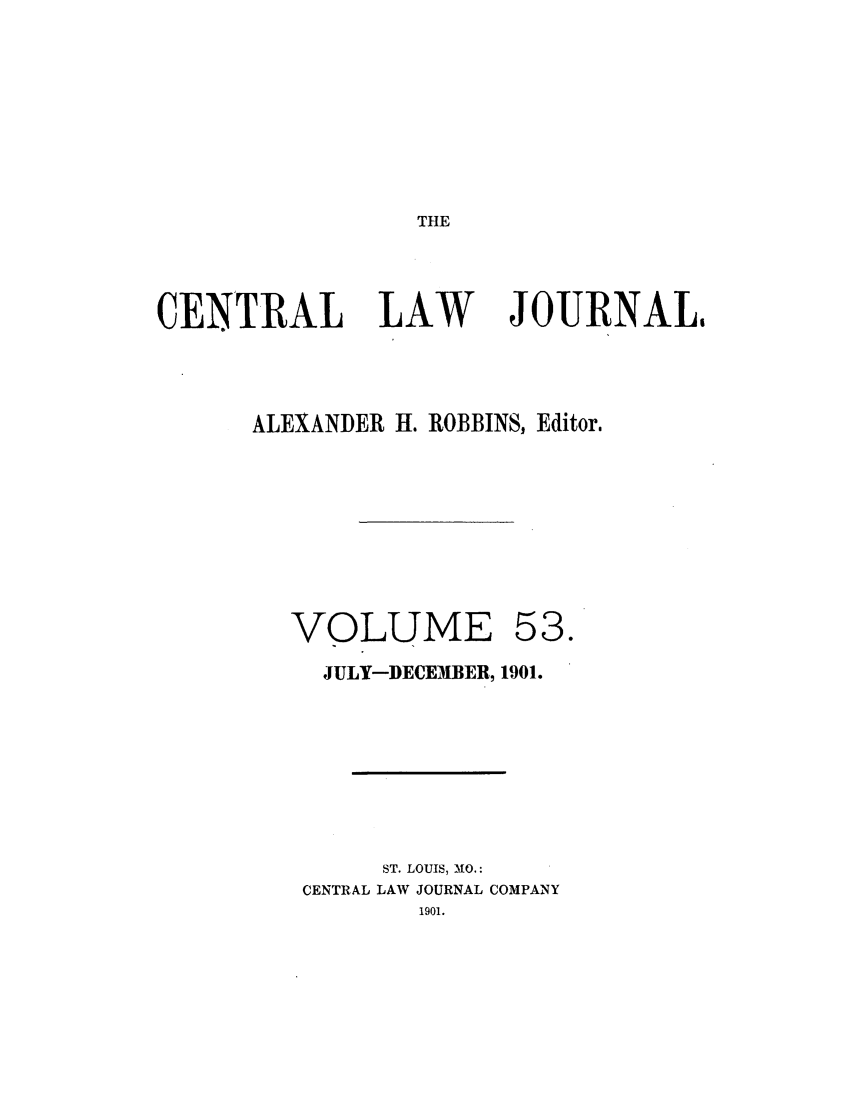 handle is hein.journals/cntrlwj53 and id is 1 raw text is: THE