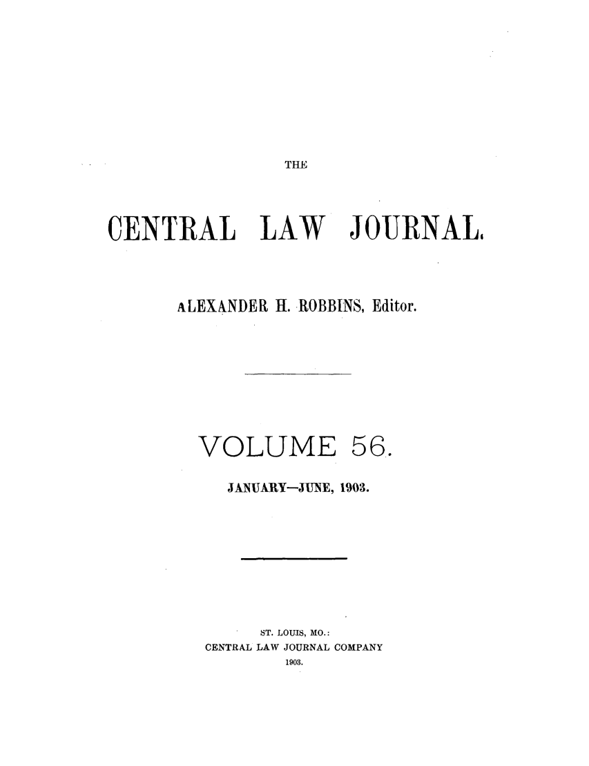 handle is hein.journals/cntrlwj56 and id is 1 raw text is: THE