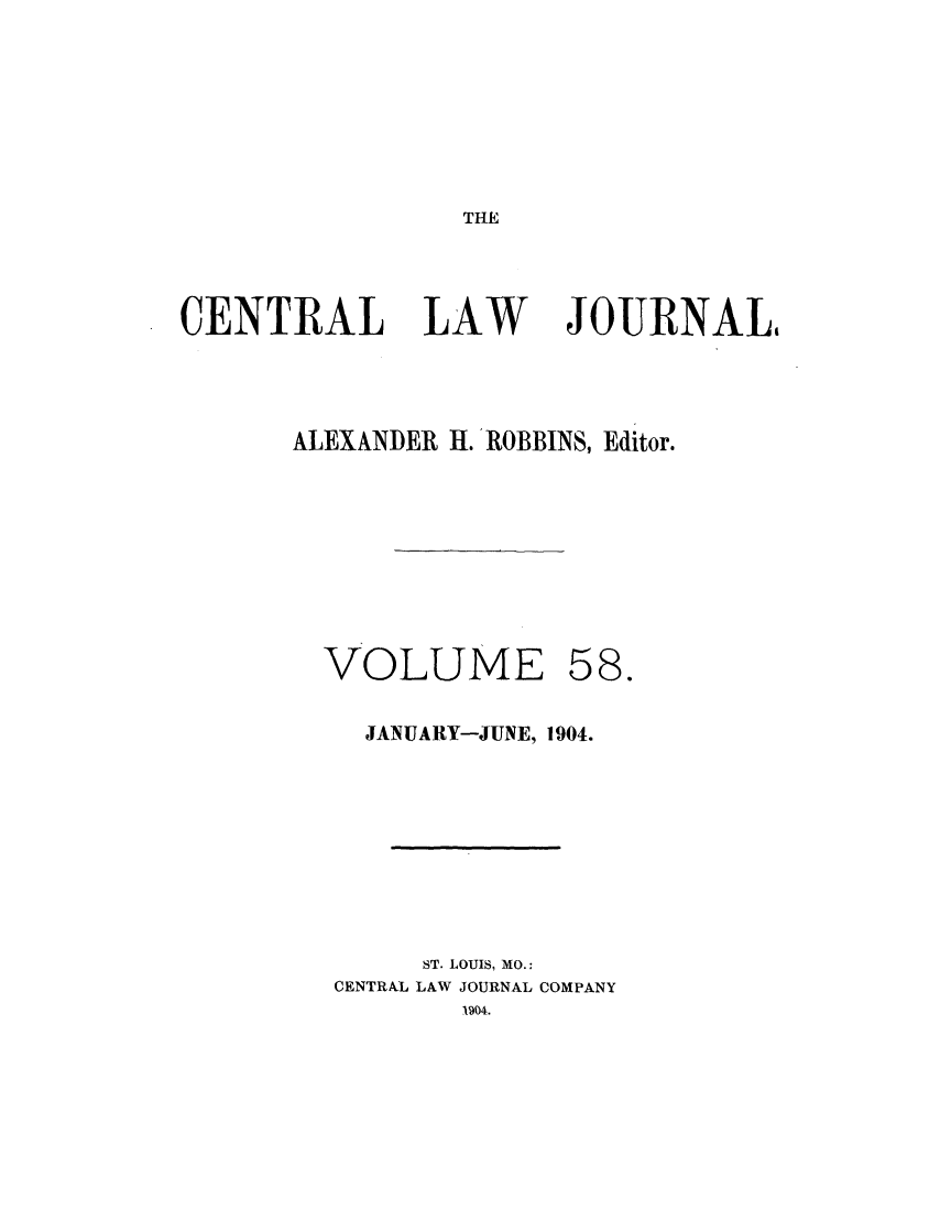 handle is hein.journals/cntrlwj58 and id is 1 raw text is: THE