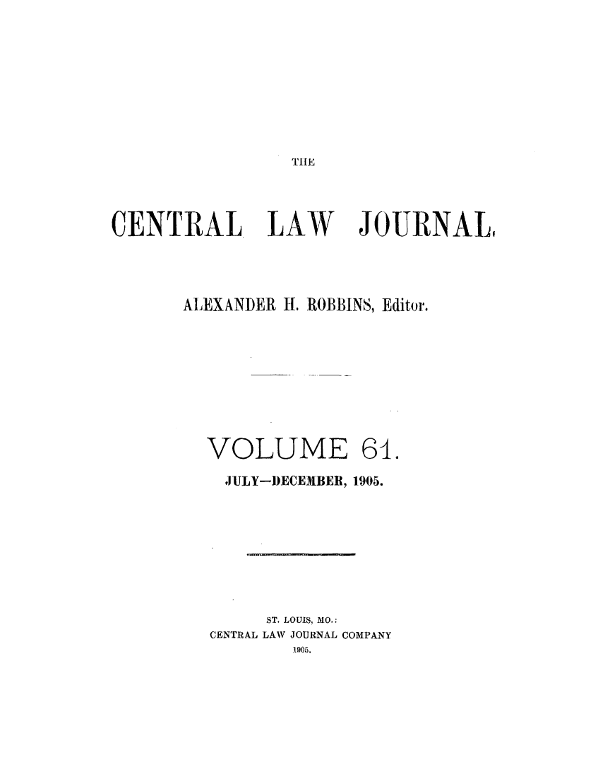 handle is hein.journals/cntrlwj61 and id is 1 raw text is: TIE