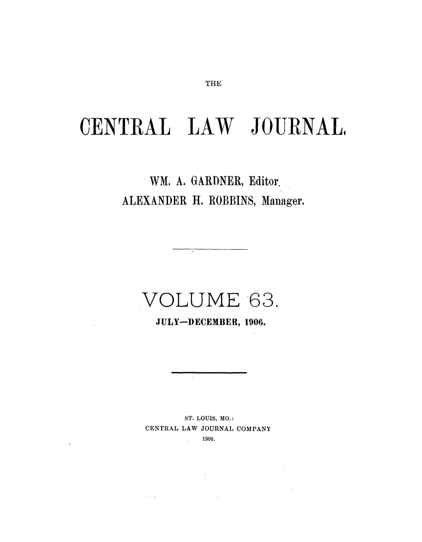 handle is hein.journals/cntrlwj63 and id is 1 raw text is: THE