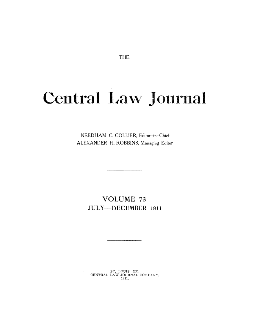 handle is hein.journals/cntrlwj73 and id is 1 raw text is: THE