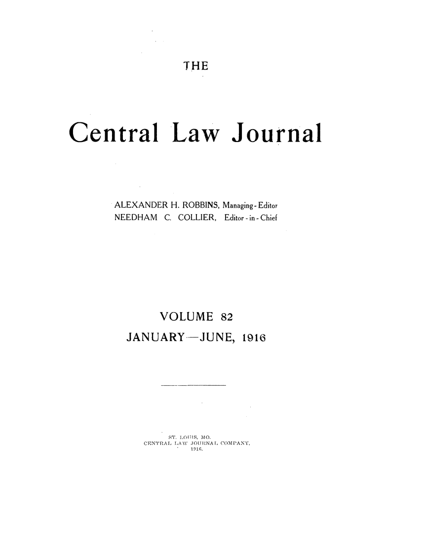 handle is hein.journals/cntrlwj82 and id is 1 raw text is: THE