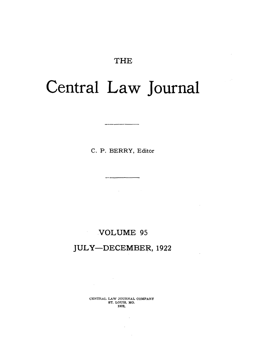 handle is hein.journals/cntrlwj95 and id is 1 raw text is: THE