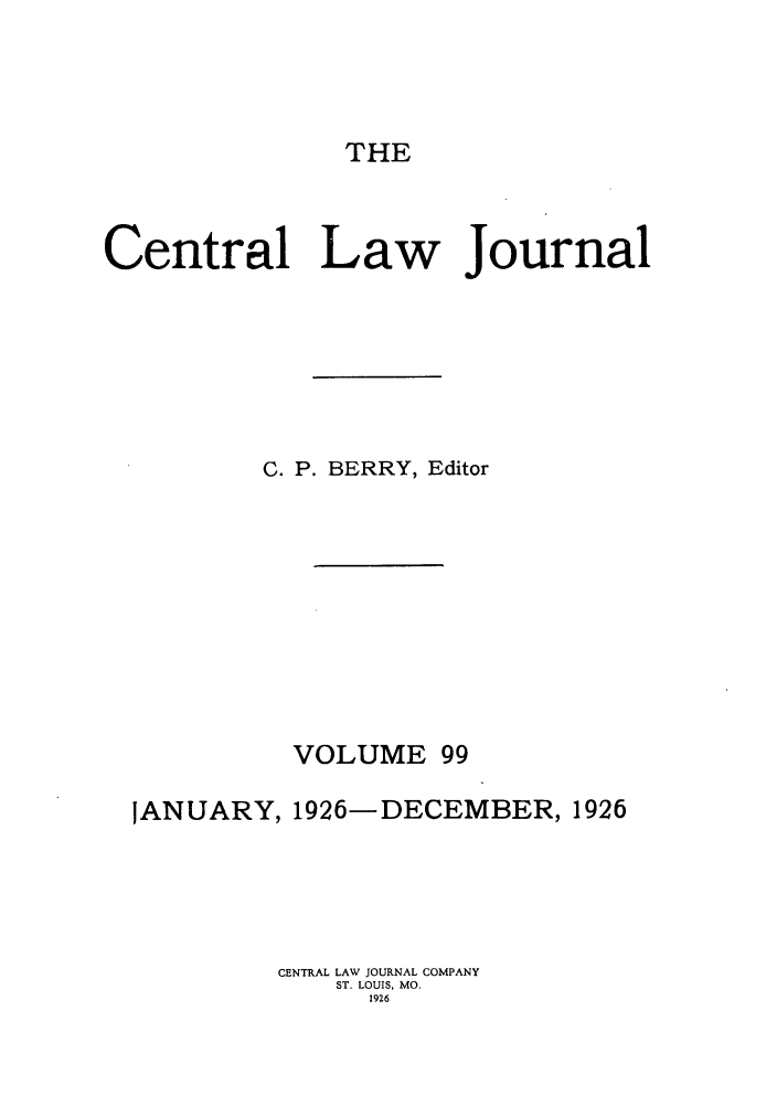 handle is hein.journals/cntrlwj99 and id is 1 raw text is: THE