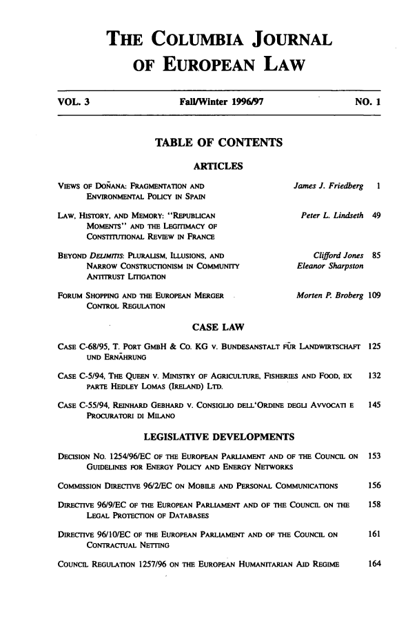 handle is hein.journals/coljeul3 and id is 1 raw text is: THE COLUMBIA JOURNAL