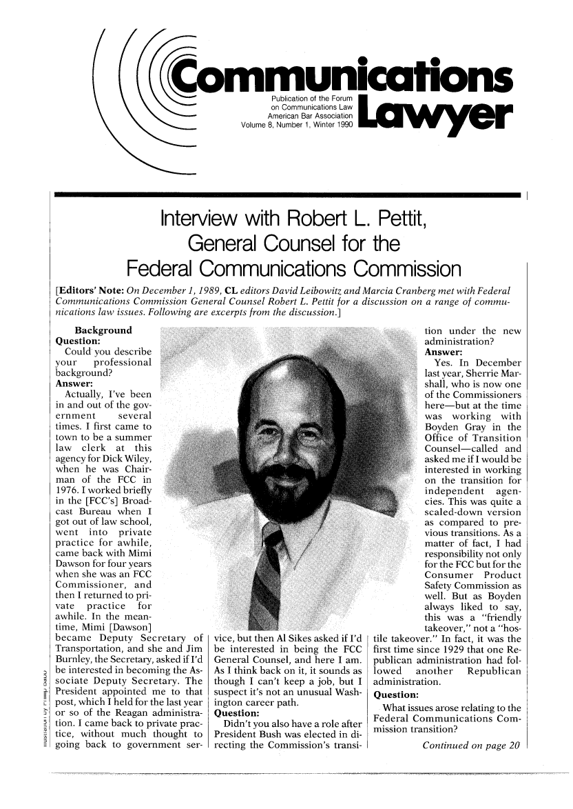 handle is hein.journals/comlaw8 and id is 1 raw text is: ,t