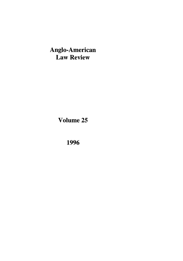 handle is hein.journals/comlwr25 and id is 1 raw text is: Anglo-American