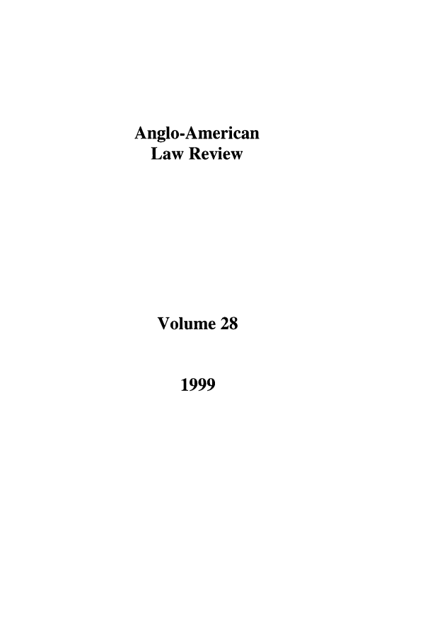 handle is hein.journals/comlwr28 and id is 1 raw text is: Anglo-American