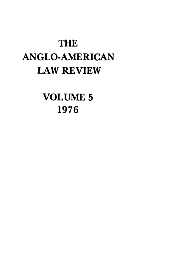 handle is hein.journals/comlwr5 and id is 1 raw text is: THE