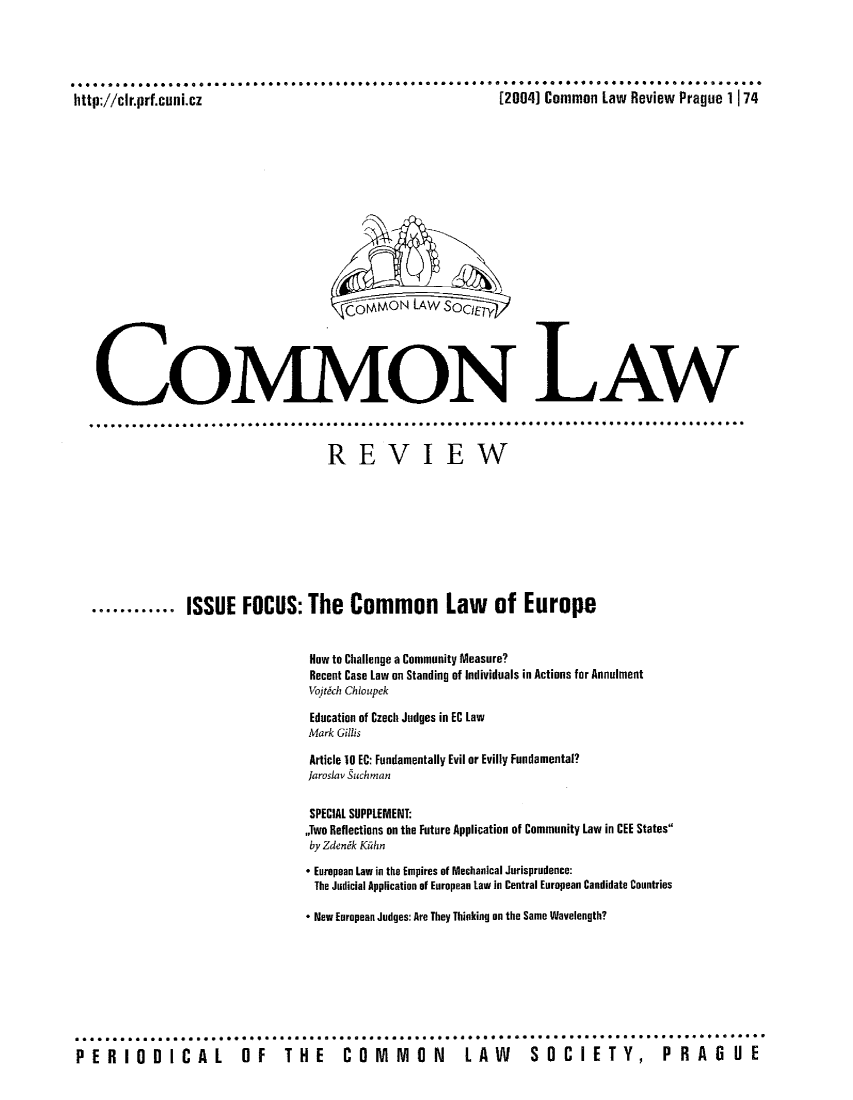 handle is hein.journals/comnlrevi6 and id is 1 raw text is: ***   * * ****** 4** *** ************ *     *     . ..*** ***** *  ******** *   *** .