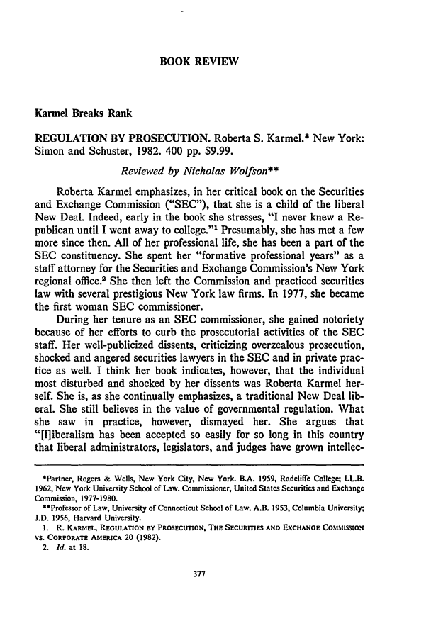 handle is hein.journals/conlr15 and id is 395 raw text is: BOOK REVIEW